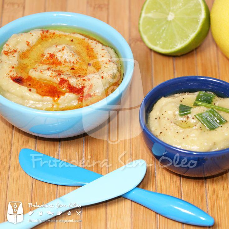 Babaganoush / Pasta de Berinjela na AirFryer | Fritadeira sem Óleo - AirFryer