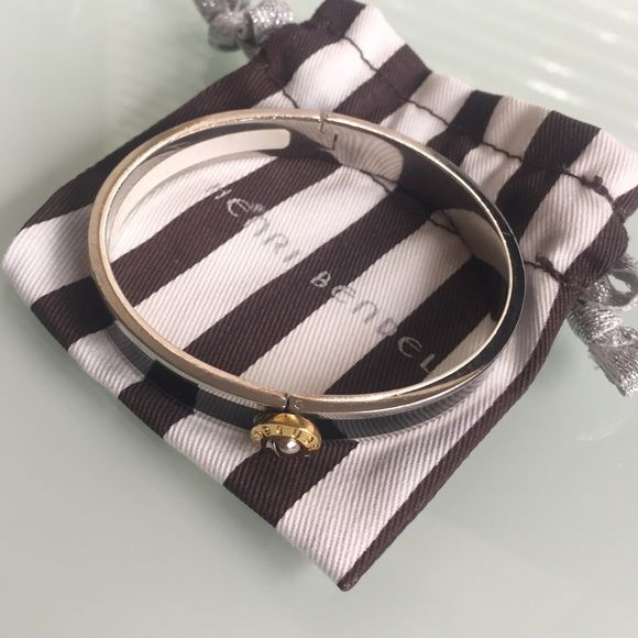 Henri Bendel Bangle Henri Bendel Black enamel bangle. Famous design! Worn 1x. Comes with dust bag henri bendel Jewelry Bracelets