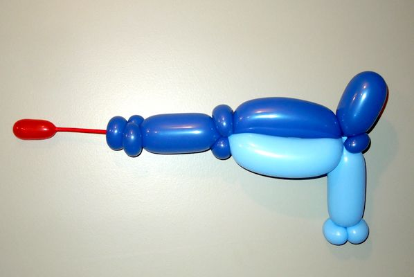 14 best balloon weapons images on pinterest balloon for Balloon decoration chicago