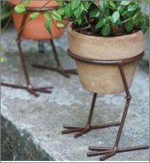 Bird Legs Pot Holder