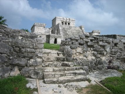 Tulum Ruin in Cozumel, Mexico  (take a cruise with the kids)