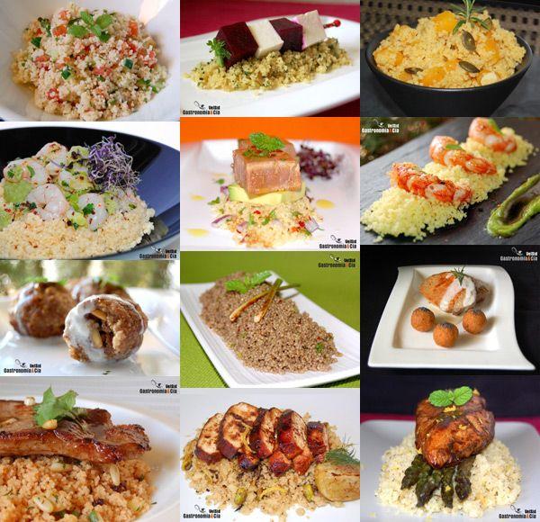 Doce recetas con cuscús
