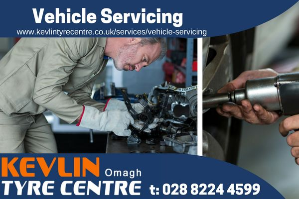 Vehicle Servicing Omagh    Kevlin Tyre Centre, Omagh. Offering a wide range of services, call us today on 028 8224 4459   New tyres, Part worn tyres,Vehicle servicing, Tyre puncture repair, Tyre changing, Tyre valve replacement, Motorcycle tyres, Wheel balancing, Wheel alignment     omagh vehicle servicing   omagh tyres   budget tyres omagh   kevlin tyre centre  