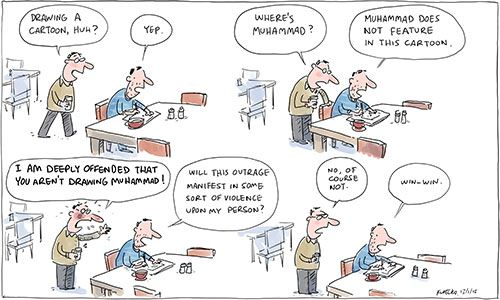 """""""The Best Defence"""" by Jon Kudelka"""