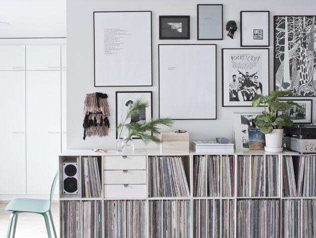 ber ideen zu plattenregal auf pinterest platten aufbewahren ip speicherung und. Black Bedroom Furniture Sets. Home Design Ideas