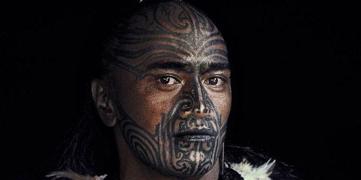 Фото: Необычные лица коренного новозеландского народа (Фото)