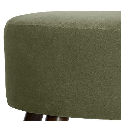 Skyline Oval Ottoman - Skyline Furniture, Green | Ottomans, Green and Ps