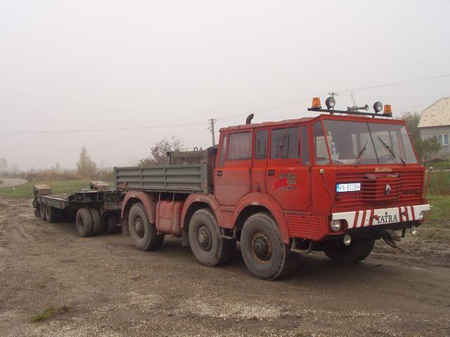 Tatra T813 6x6 TP Transporta P-32