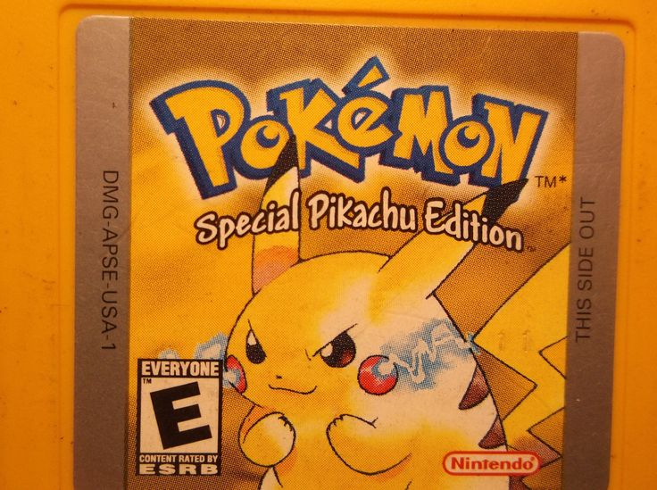 POKEMON YELLOW SPECIAL PIKACHU EDITION Nintendo Game Boy Gameboy TESTED SAVES: $59.95 End Date: Wednesday Apr-4-2018 22:21:53 PDT Buy It…