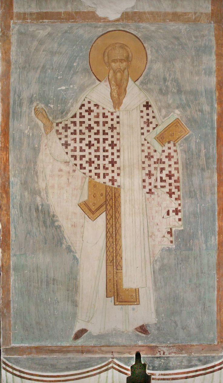 Святитель Иаков, брат Господень Разрез по центральному продольному нефу. Вид на север
