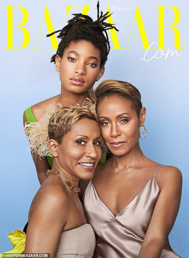 Jada Pinkett a strict mother to Willow