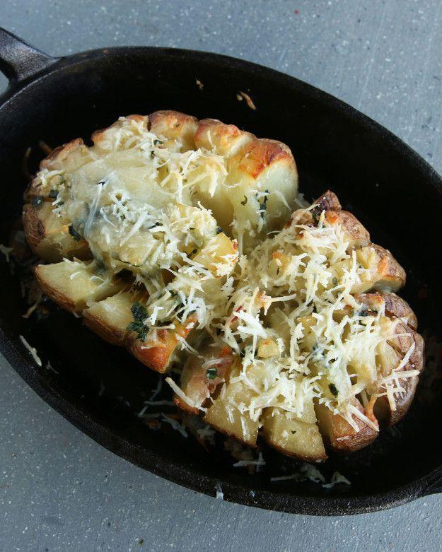 Blooming Potato Bake
