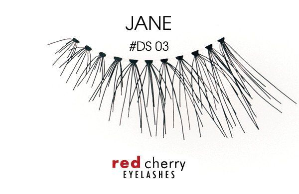 Buy your Red Cherry Demi Lashes Style #DS03 (Jane) right here for just £3.99 including FREE 1st Class postage! Order yours now.