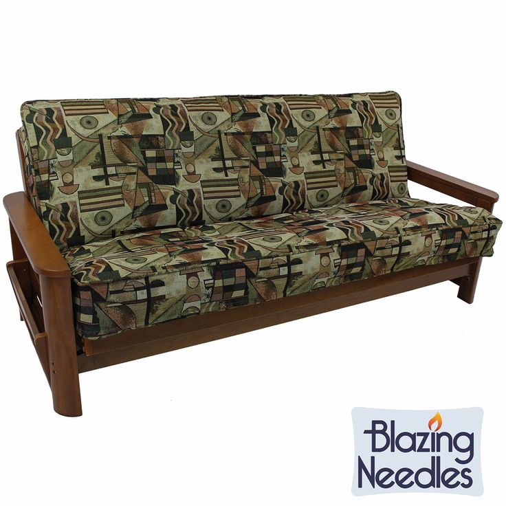 Blazing Needles Contemporary Double Corded Tapestry Futon Cover Com Ping The Best