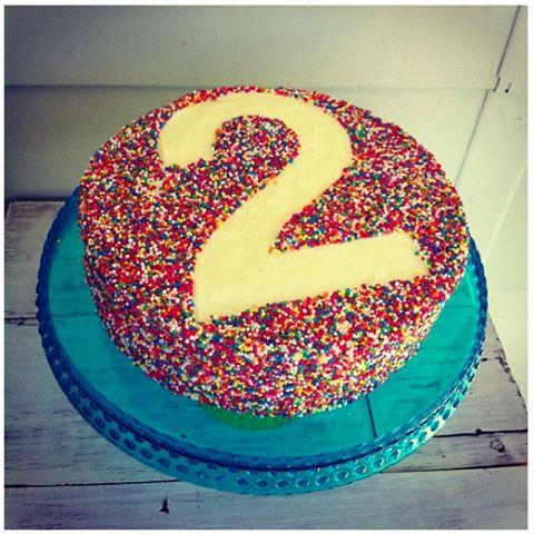 2nd birthday cake  Desserts  Pinterest