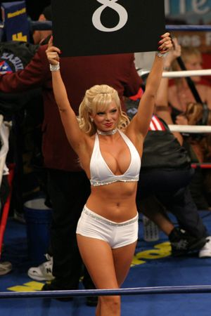 CageGirls MMA Models Card Girls Ring Of