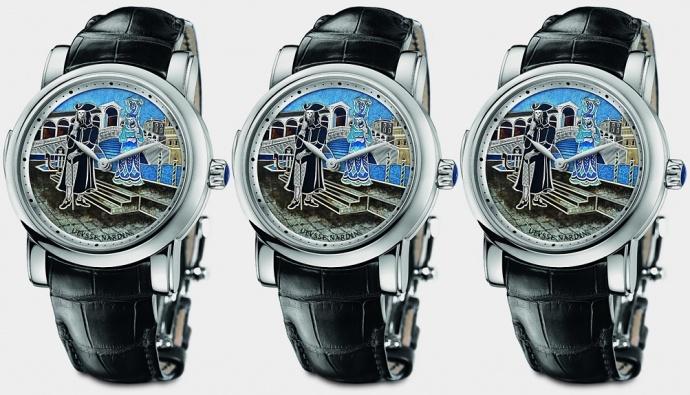 Швейцарская часовая компания Ulysse Nardin выпустила новую лимитированную модель часов Carnival of Venice Minute Repeater в честь одного из самых романтичных городов мира — Венеции