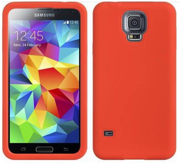 Θήκη Σιλικόνης Silicone Case OEM Κόκκινο (Samsung Galaxy S5) - myThiki.gr - Θήκες Κινητών-Αξεσουάρ για Smartphones και Tablets - Χρώμα κόκκινο