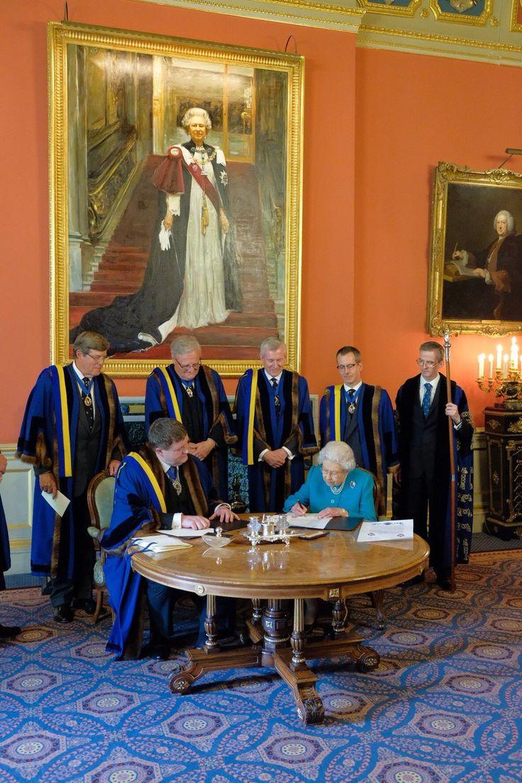 Queen Elizabeth celebrating 70 years as a Freemason