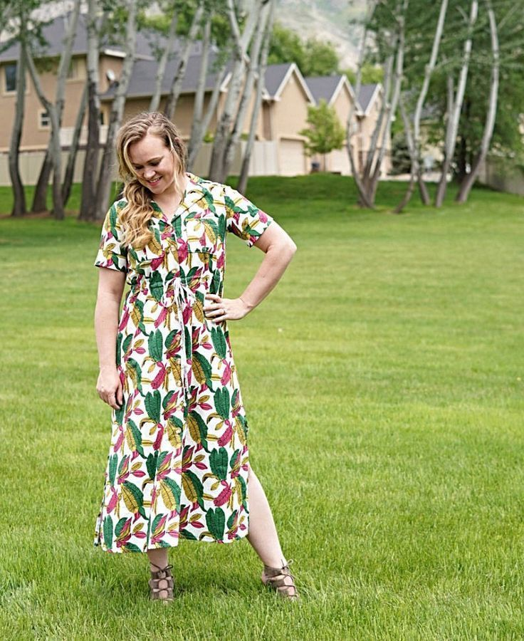 a5e64a33f02 Pattern Review for the Reeta Midi Shirt Dress by Named Clothing | McKell  Makes | Midi shirt dress, Dresses, Named clothing