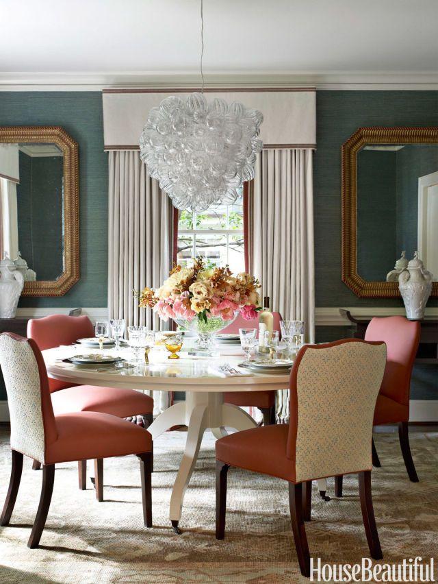 22 best color coral images on pinterest - Carolina dining room ...
