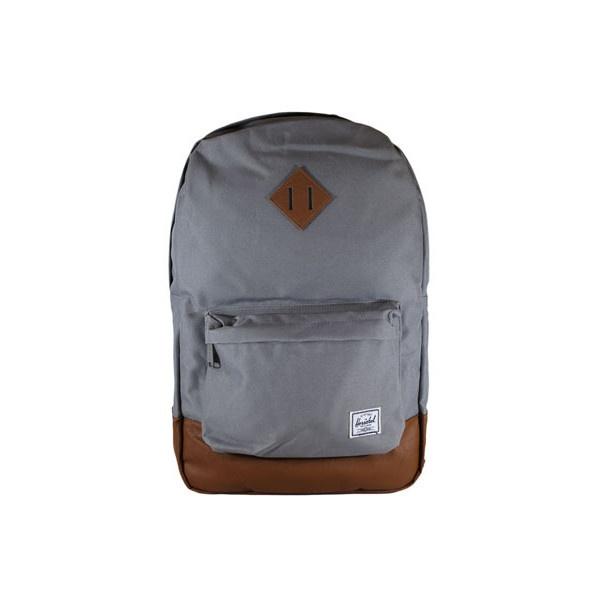 Herschel Heritage Backpack Grey ($85) via Polyvore