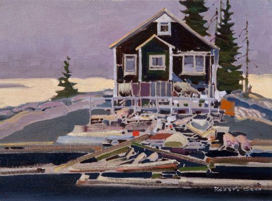 Old Cottage Dans le golfe de Robert Genn