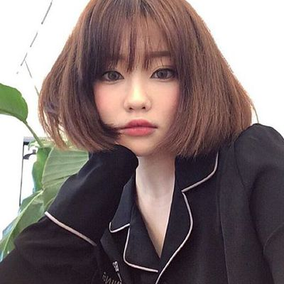 1931 best images about A GIRL SHORT HAIR on Pinterest | Korean model, Bobs and Ulzzang makeup