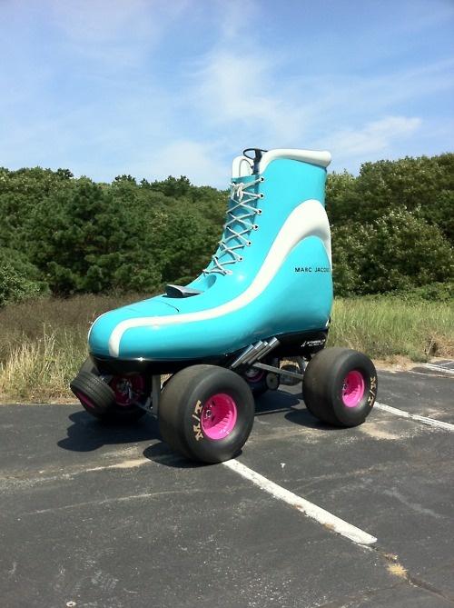 drive me straight to xanadu roller skate car from marc jacobs provincetown big stuff little. Black Bedroom Furniture Sets. Home Design Ideas