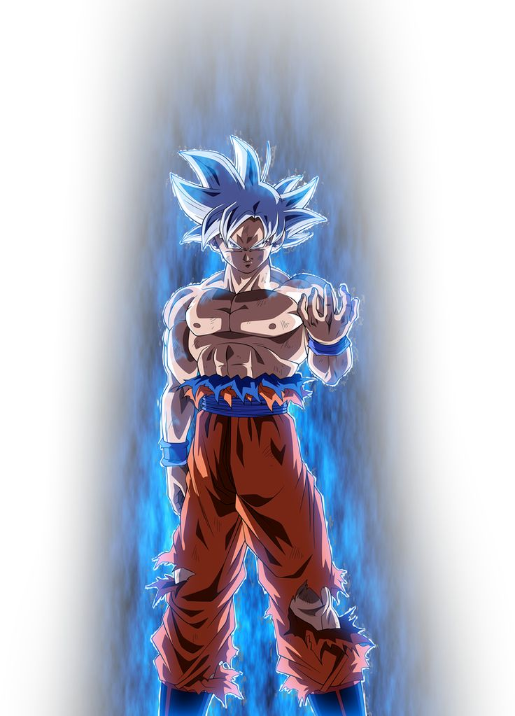 Goku UI [Aura V1] by blackflim on DeviantArt