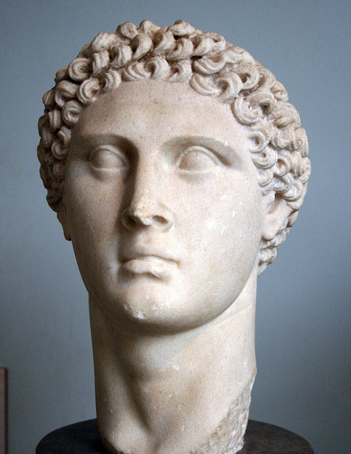 marble head of a ptolemaic queen Crystalline marble bust of a ptolemaic queen, possibly  arsinoe ii, circa 3rd  the head carved separately to be inserted into the  bust.