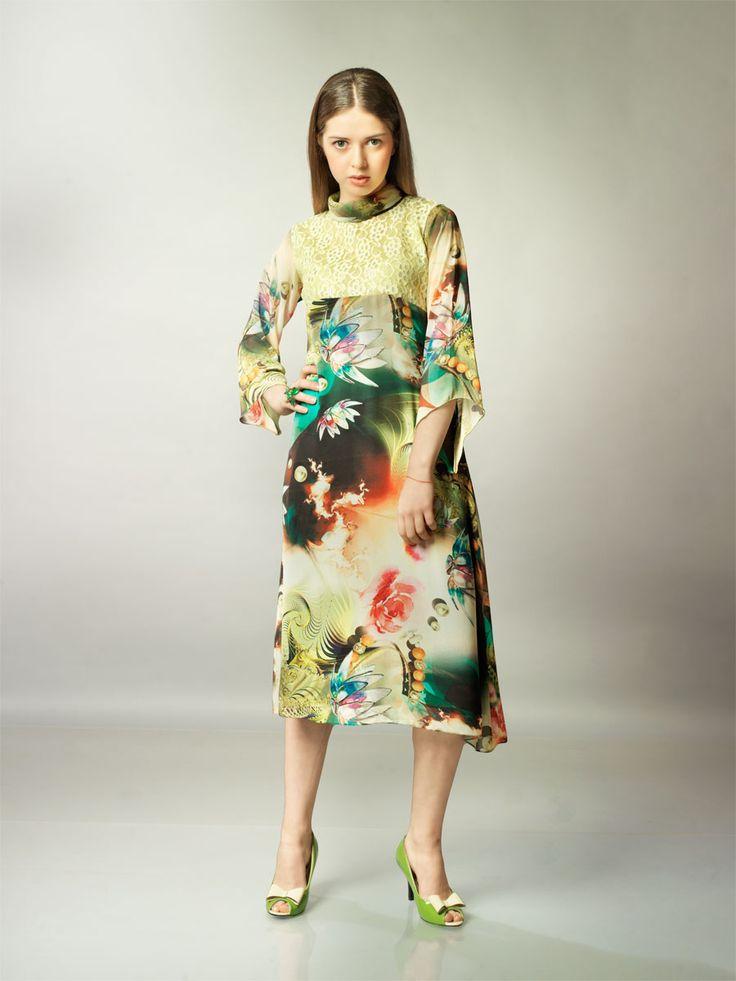 #Kurti #Fashion #printed #IndoWestern #Summer