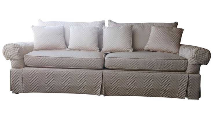 Walter E. Smithe Sofa on Chairish.com