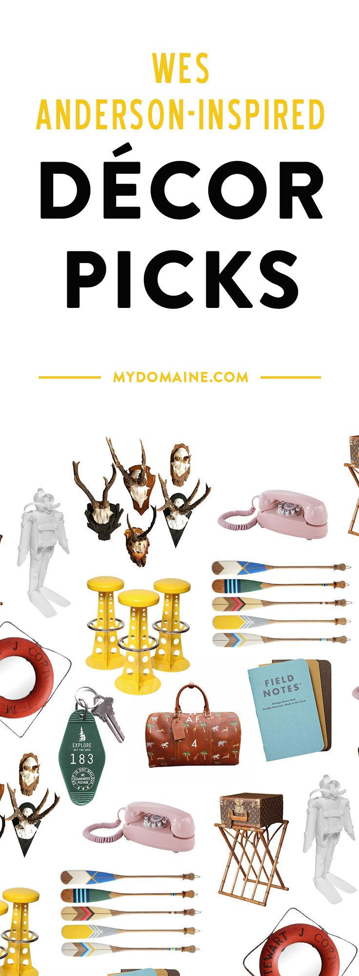 Must-have Wes Anderson inspired décor