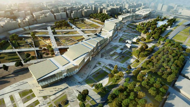 peter eisenman & aytac architects envision 'yenikapi project' in istanbul…