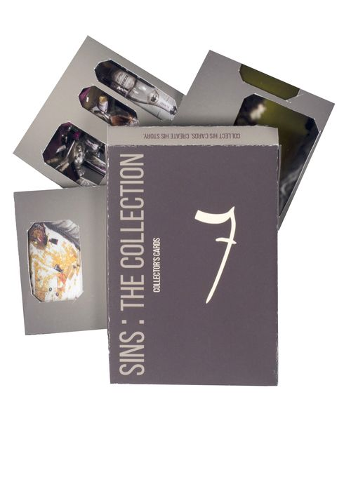 7 Deadly Sins Packaging