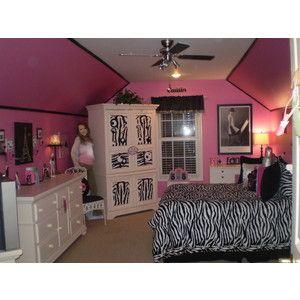 pink and zebra room designs - Zebra Bedroom Decorating Ideas
