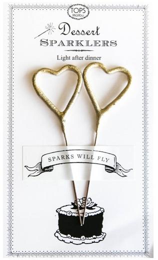 sparklers, heart, heart sparklers, heart shaped sparklers, dessert sparklers, party, dessert, valentines day, anniversary