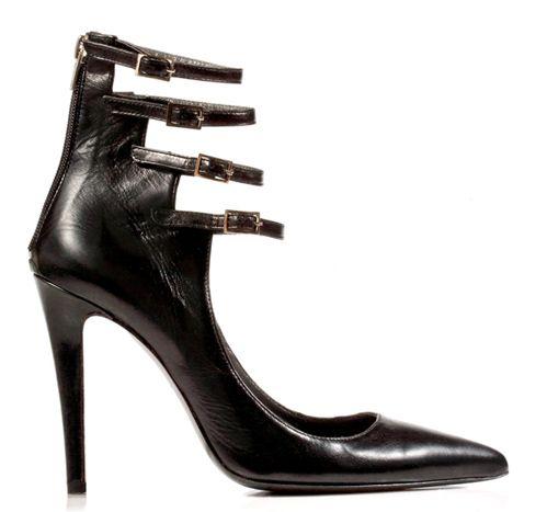 STATHIS SAMANTAS / Calfskin pump Heel: 10.5cm