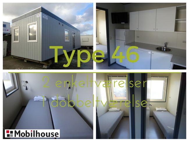 Type 46 - 3 værelser