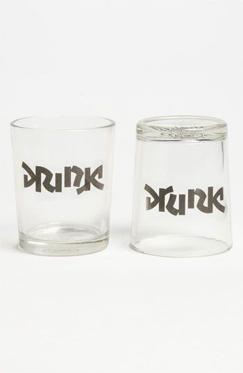 Haha yes please :)  Fred and Friends 'Bottoms Up' Shot Glasses (Set of 2) available at #Nordstrom