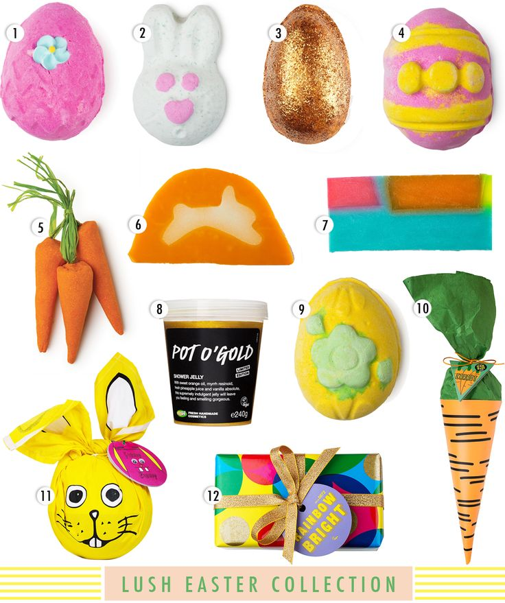 Look at this years lush Easter I didn't get any of these as I didn't know much about lush then xx