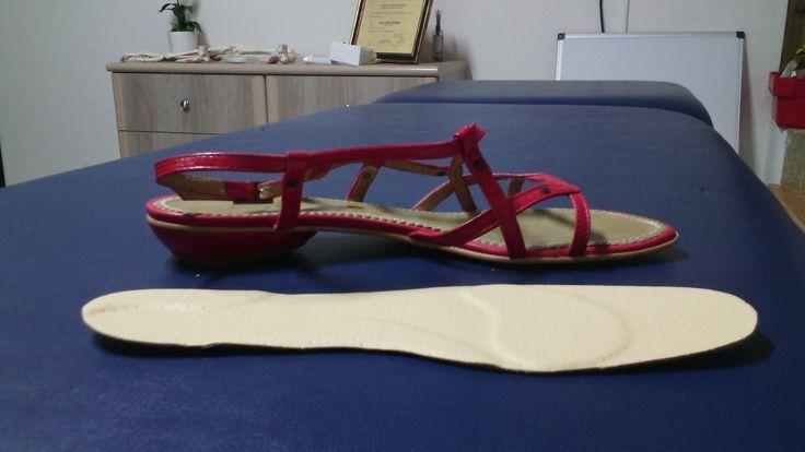 Semelles Orthopédiques extra-fines pour sandales et chaussures ouvertes