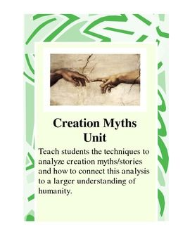 Creation Myth Short Unit, Lecture Notes,... by William Woodrum | Teachers Pay Teachers