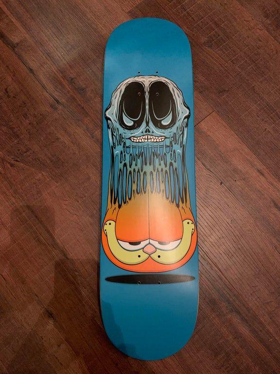 The Second Deck I Made Is My Personal Favourite Imsorryjon In 2020 Skateboard Decks Skateboard Cool Skateboards