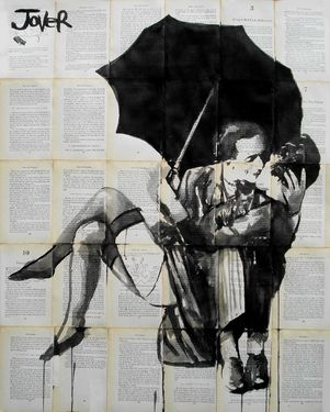 "Saatchi Art Artist Loui Jover; Drawing, ""the vintage kiss"" #art"