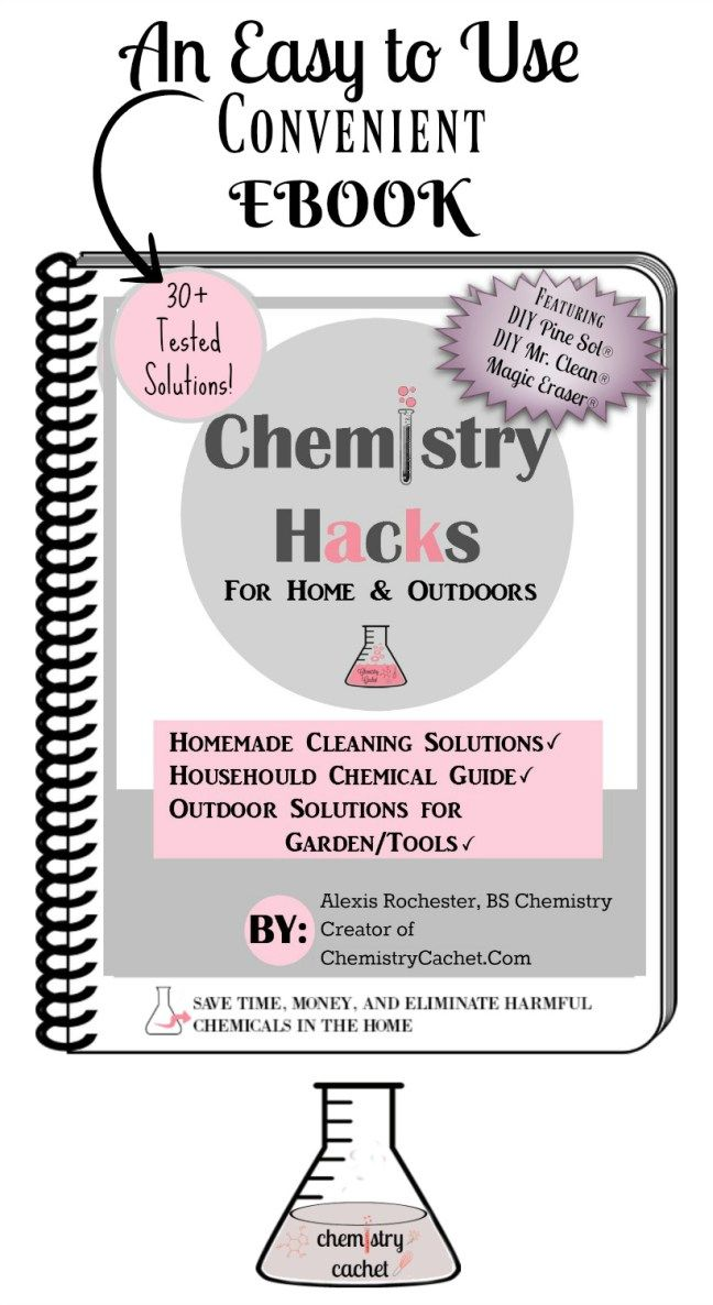 the book Chemistry Hacks for Home and Outdoors