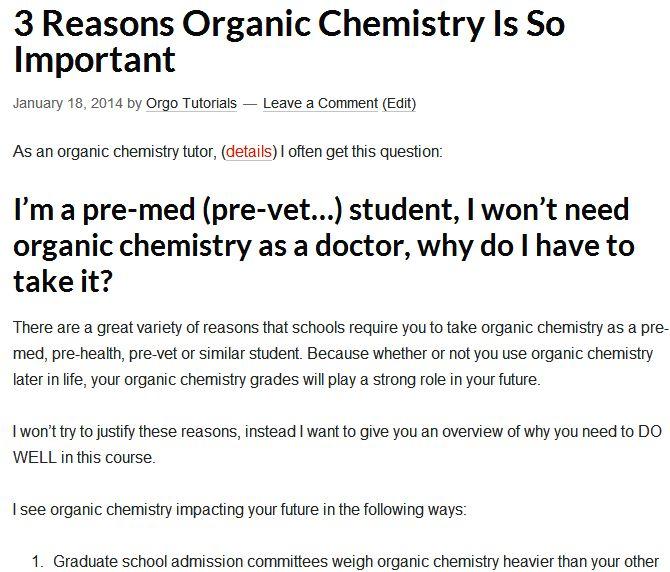 19 besten Orgo Tutorials Video+Blog Bilder auf Pinterest | Medizin ...