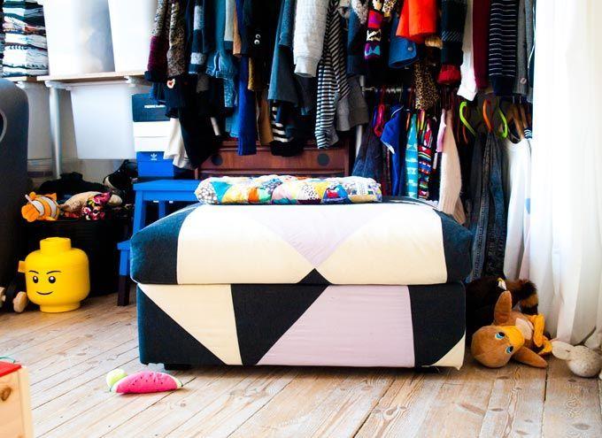 die besten 25 ikea pouf ideen auf pinterest seil reifen ottomane reifen polsterhocker und. Black Bedroom Furniture Sets. Home Design Ideas