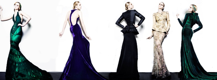 Haute Couture Winter collection by Greek fashion designer Celia Kritharioti. http://www.celiakritharioti.gr/site/